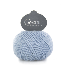 Cardiff Cashmere Classic in Pearl Blue - Untreated & Sustainable