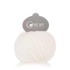 Cardiff Cashmere Large in Natural - Untreated & Sustainable