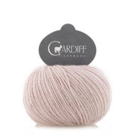 Cardiff Cashmere Classic in Blush - Untreated & Sustainable