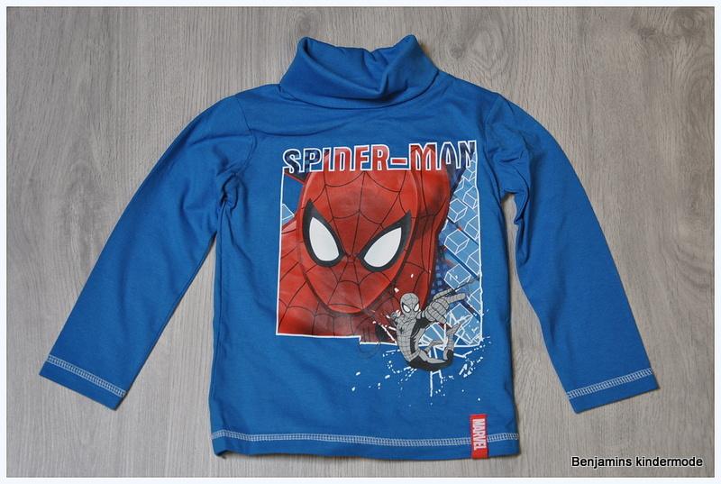 Spiderman l.blauw met col