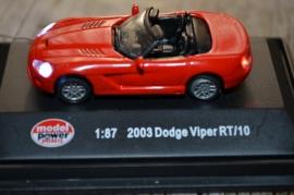 Verlichte Dodge Viper