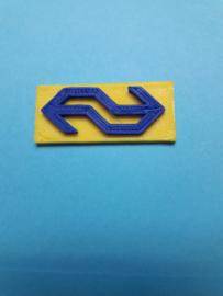 NS Logo Geel blauw