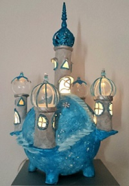 Cursus Kleikasteel lampje maken