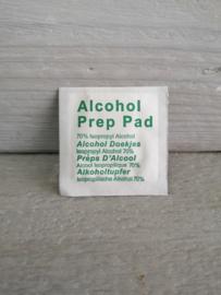 "Alcohol doekjes ""bling hergebruik"""