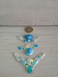 KB Mermaid bling blauw