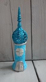 Klei-kasteel blauw