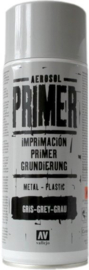 28011 Vallejo Aerosol Primer - 400 ml - Grey