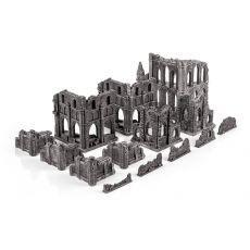 Gothic ruins terrain set