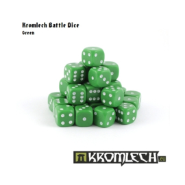 Kromlech Green Battle Dice
