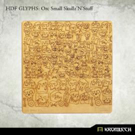 HDF Glyphs: Orc Small Skullz'N'Stuff
