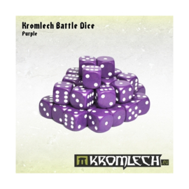 Kromlech Purple Battle Dice