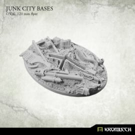 Junk City Bases - oval 120 mm [flyer]