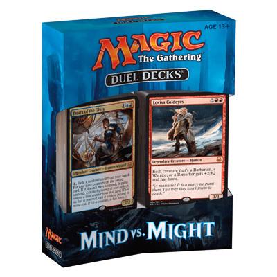 MTG Mind vs Might Duel Decks