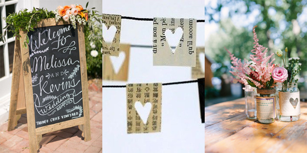 Verbazingwekkend Bruiloft decoratie ideeën | Vier de Liefde XH-21