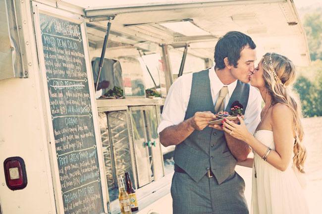 Bruiloft ideeën - Foodtruck op je bruiloft