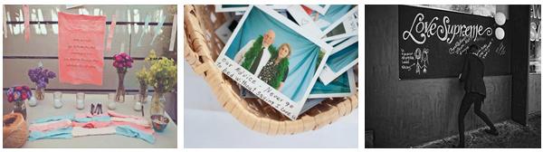 Bruiloft ideeën - gastenboek ideeen