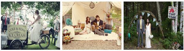 Bruiloft ideeën - verschillende bruiloft thema's