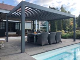 Pallazzo Lounge lamellen dak 3500 mm breed
