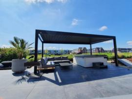 Pallazzo Lounge lamellen dak 3000 mm breed
