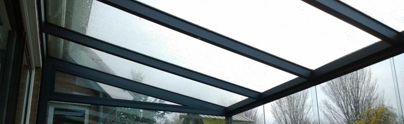 Vatório terrasoverkapping glas 400 cm x 350 cm