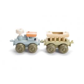 Tiny BIOplastic treinen (set van 2)