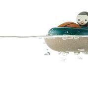 Houten speedboot