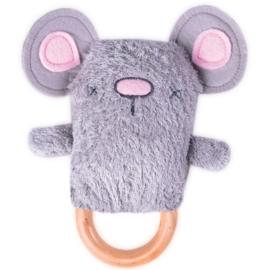 Dingarings - Moe Mouse rammelaar en bijtring