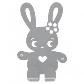 Roommate - Kapstok Ninus konijn grijs