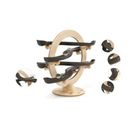 Plan Toys Knikkerbaan Curvy Click & Clack