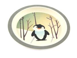 Bamboe kinderservies Pinguïn