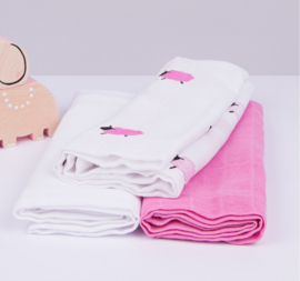 Kadolis Hydrofiele doek roze schaap