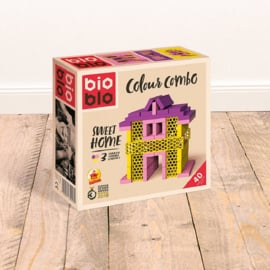 Bioblo Colour Combo Sweet Home - 40 eco bouwblokken