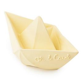 Badspeeltje Boot Geel - Vanille