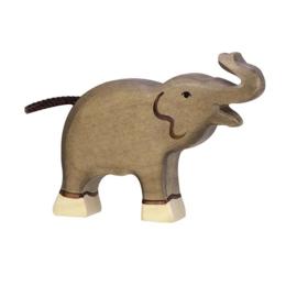 Houten olifant - klein