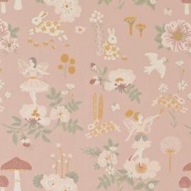 Majvillan Quilt deken Old Garden Pink (130x180 cm)
