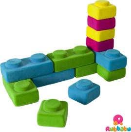 Rubbabu Rubbablox bouwblokken