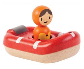 Houten reddingsboot