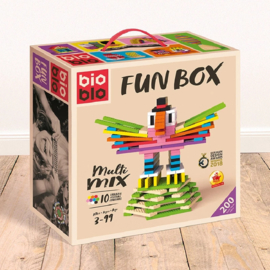 Bioblo Fun Box - 200 eco bouwblokken