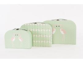 Kofferset Flamingo