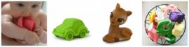 Vieze badspeeltjes: radicaal de prullenbak in! Tijd voor Oli & Carol!