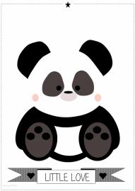 Poster Panda A3