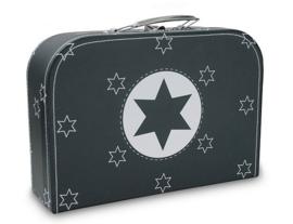 Cara Caro koffersetje Blauw met ster