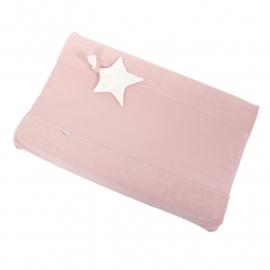 Aankleedkussenhoes - Dusty Pink