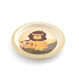 Yuunaa Bamboe kinderservies Leeuw