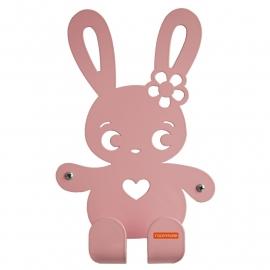 Roommate - Kapstok Ninus konijn rose