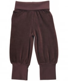 Maxomorra - broek velours Brown (maat 50/56)
