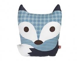Franck & Fischer - Kussen Rufus blue fox