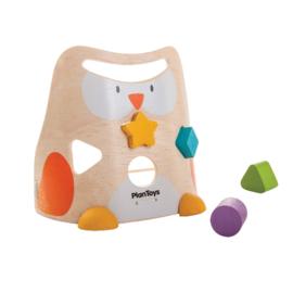 Plan Toys Uil - vormen- en sorteerspel