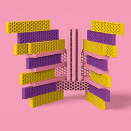 Bioblo Colour Combo Sweet Home - 40 eco bouwblokken