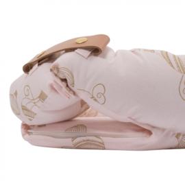 Babynest luchtballonnen roze